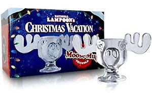 NEW IN BOX NATIONAL LAMPOONS CHRISTMAS VACATION MOOSE MUGS