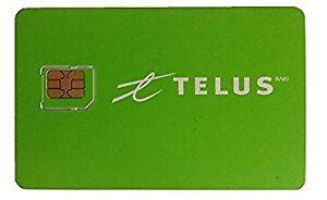 Telus Micro Sim card