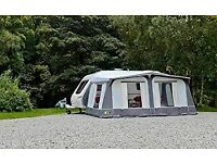 BRAND NEW AND BOXED 950CM New Forest Caravan Awning in grey