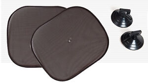 2PCS-Car-Window-Sunshade-Sun-Shade-Visor-Side-Mesh-Cover-Shield-Sunscreen-NEW