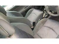 renault clio interior seats and door cards from a 2002 1.4 16v 3 door