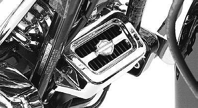 Harley NEW OEM Touring Chrome Voltage Regulator Cover 1997-2008 PN# - Chrome Voltage Regulator Cover