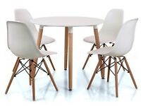 Eames style chairs and dinning table