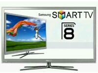 "Samsung 65"" smart 3D wi-fi tv builtin HD freeview fullhd 1080p Tv is fully working Ultra slim tv."