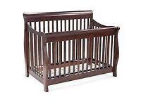 Bassinette pour bébé en bois (3 en 1)