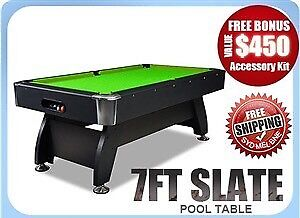 Slate Pool Tables!! Selling fast!! DMA ONLINE!