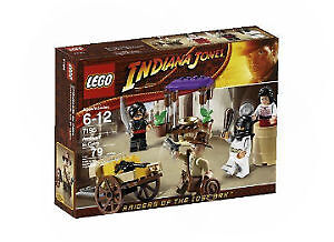 LEGO Indiana Jones Hinterhalt in Kairo 7195 günstig kaufen
