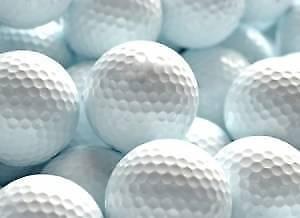 5 golf balls