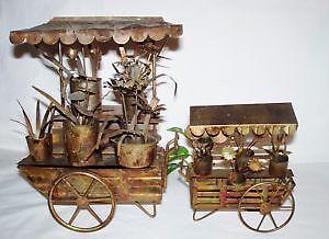 Antique Flower Carts