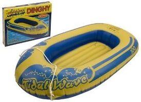 blow-up dinghy