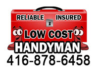 ••LOW COST AND EFFECTIVE HANDYMAN•
