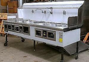 Custom gas woks - brand new -