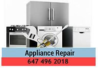 Heating & Appliance Repair - Quick service -  647-496-2018