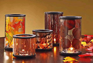 PartyLite Xpress it glass hurricane