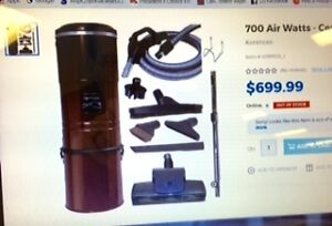 CLEARANCE Kenmore Central Vacuum kit at Sears in Brandon