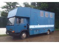 Leyland DAF 45 Horsebox, 1991, J reg