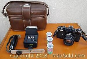 35mm Pentax Camera and Accessories