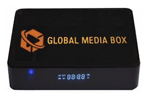 Global Media IPTV Box w/ PVR & IPTV Service