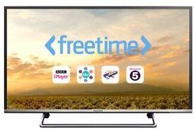 "New Panasonic 49"" smart LED Tv Bargain RRP£500 warranty free delivery"