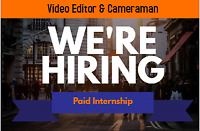 Internship Available of Journalism and Video Editor