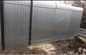 HERAS STYLE SECURITY FENCE PANELS 🔩