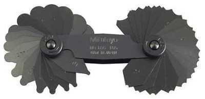 Mitutoyo 186-105 Radius Gage Set34 Pairs1-7mm