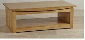 Beautiful light oak coffee table (Oak Furnitureland)