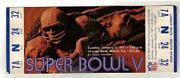 Super Bowl V Ticket Stubs