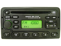 ford 6000 cd player and code