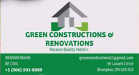Basement construction & renovations.