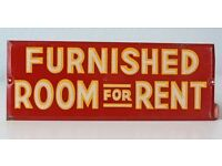 One Furnished Room Available for Rent - Lovely Accomodation