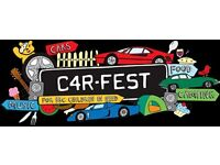 CARFEST NORTH 2 ADULT & 2 KIDS (6-16 year old) WEEKEND FESTIVAL CAMPING TICKETS.