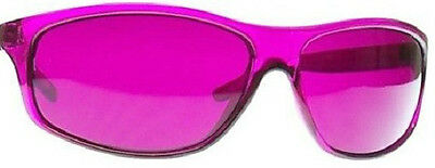 New Color Therapy Magenta Relaxing Pro Chakra Glasses
