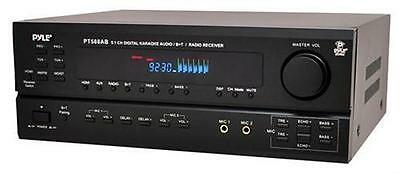 New Pyle PT588AB 5.1 Channel Home Receiver with AM/FM, HDMI and Bluetooth