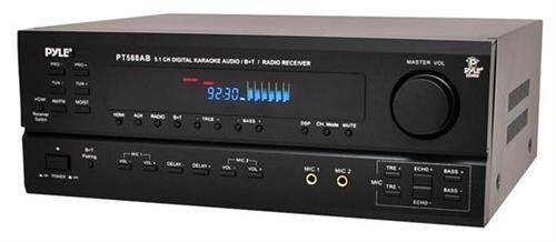 Pyle PT588AB 5.1 Channel Home Receiver with AM/FM, HDMI and Bluetooth