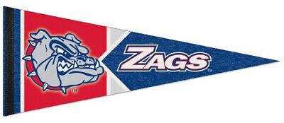GONZAGA BULLDOGS Official NCAA Sports Team Premium Felt Collectors PENNANT