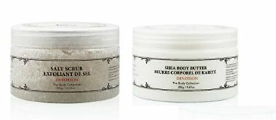 (NEW Vivo Per Lei Body Butter + Scrub Set DEVOTION FREE SHIPPING)