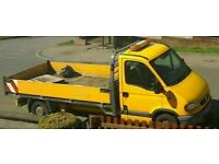 Vauxhall movano lwb 2005 dti 3500 dropside pickup recovery not ford px