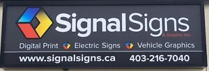 BANNERS, LED, VEHICLE GRAPHICS, WINDOW PERFORATION