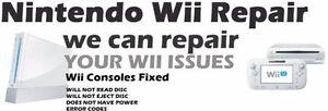 Nintendo Wii U or Wii - Professional Guaranteed repair services