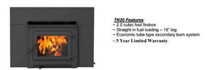 Installed price $2699 Canadian Made Wood Burning Insert