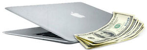 CASH FOR YOUR UNWANTED APPLE MACBOOK, IMAC AND NOTEBOOKS!