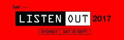 Selling Listen Out VIP Ticket Sydney