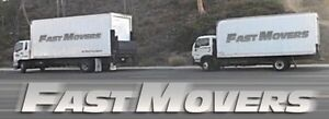 2 FAST MOVERS & 18ft moving truck for $69/hr FREE BOXES