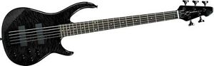 Peavey Millennium 5 AC BXP 5-String Bass Quilt Top - Black - New