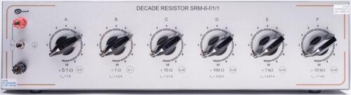 Sonel SRM-6 Series Manual Decade Resistor 0.1 Ω to 111 111 kΩ