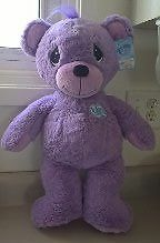 "2009 Precious Moments 22"" Purple Bear"