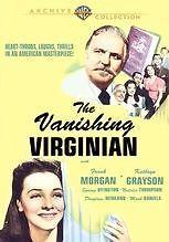 VANISHING VIRGINIAN Region Free DVD - Sealed