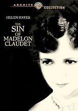 THE SIN OF MADELON CLAUDET (1931 Helen Hayes) Region Free DVD - Sealed