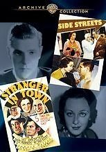 WAC DOUBLE FEATURES: SIDE STREETS/STRANGER IN TOWN Region Free DVD - Sealed